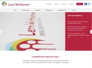 Internetplattform: www.lernwirkstatt-inklusion-oe.de