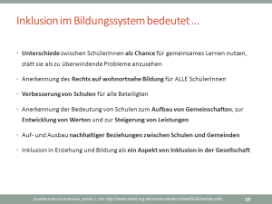 Quelle: Index für Inklusion_Schule, S. 10f.: http://www.eenet.org.uk/resources/docs/Index%20German.pdf