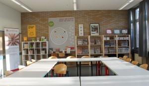 lLernWirkstatt vor Ort in einem Raum in der Olper Realschule (dank freundlicher Unterstützung der Stadt Olpe)